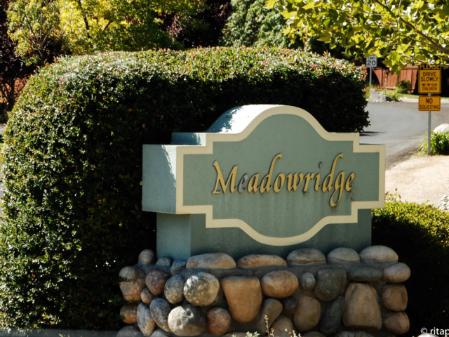 meadowridge sign